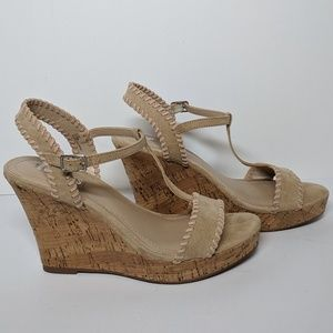 CHARLES by Charles David Lucas T-strap Wedges